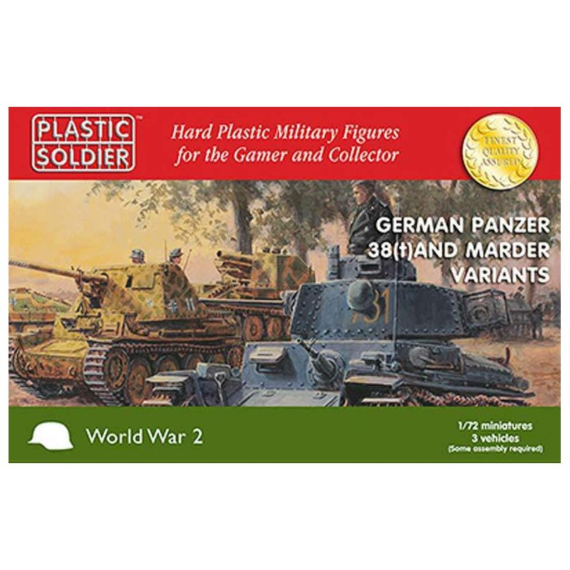 1 72 german panzer 38 t and marder variants 3 16 96 fanta. Black Bedroom Furniture Sets. Home Design Ideas