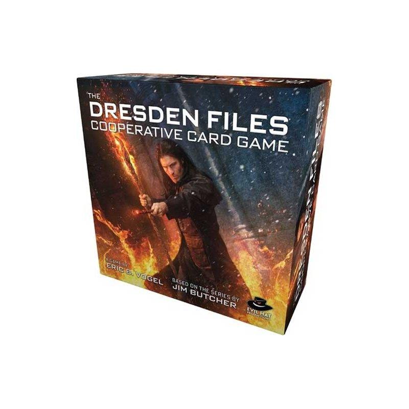 Dresden Files Cooperative Card Game EN