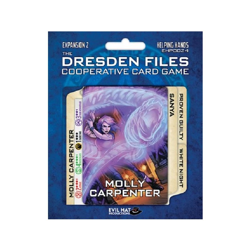 Dresden Files Cooperative Card Game Expansion 2 Helping Hands En