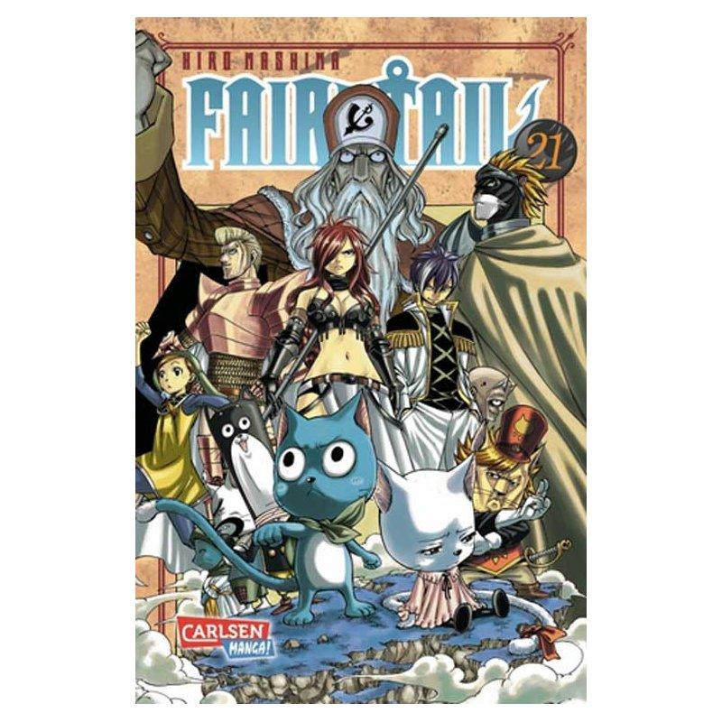 Fairy Tail 21 (DE), 5,95 €, FantasyWelt.de