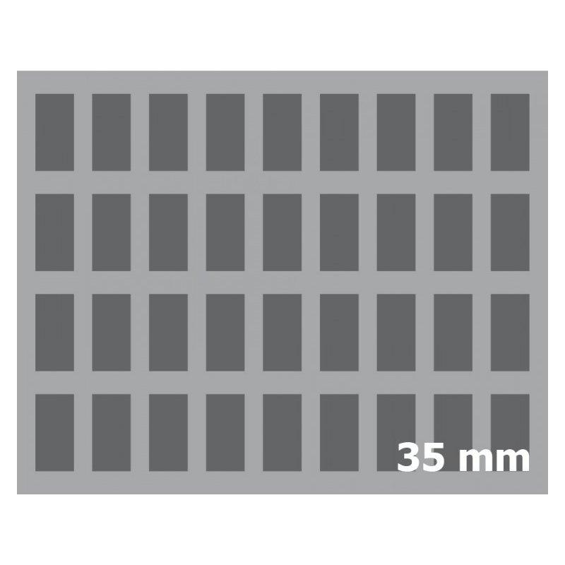 Feldherr full size 36 f cher schaumstoff 35mm inkl boden for Artikel von boden