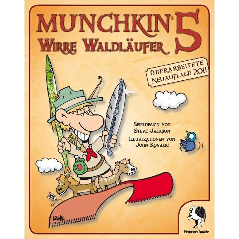 Munchkin 5 - Wirre Waldläufer (aktuelle Version) [DE], 10,10 &eu
