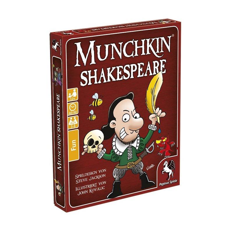 Munchkin: Shakespeare (DE), 11,96 €, FantasyWelt.de | Tabletopsh