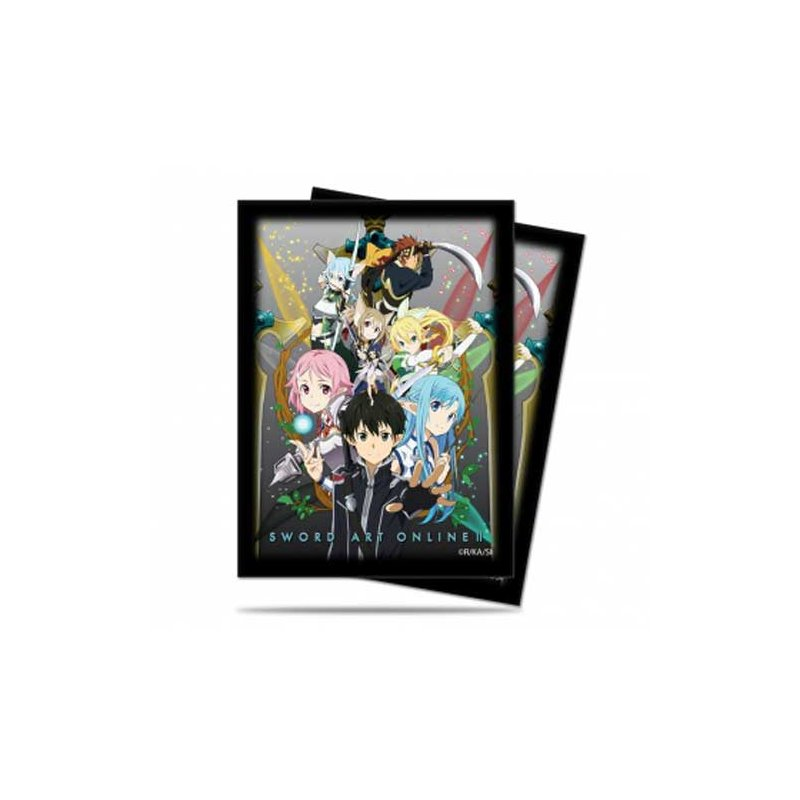 up deck protector sleeves sword art online ii. Black Bedroom Furniture Sets. Home Design Ideas