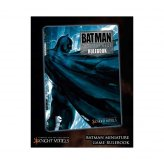 ** % SALE % ** Batman Miniature Game Rulebook (Batman Cover) (ENGLISCH)