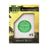 ** % SALE % ** Malifaux: Green Translucent 40 mm Bases (5...