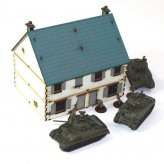 ** 30% SALE ** 1:72nd Pre-painted Semi Detached Cottages...