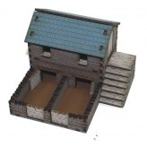 ** 30% SALE ** 1:72nd Prepainted MDF Pigsty and Chicken Coop