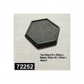 1 Inch Slotted Hex Gaming Base (20)