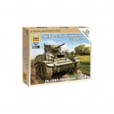 15mm US Light Tank M3A1 Stuart ZVEZDA