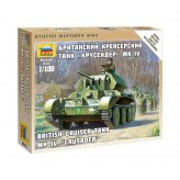 15mm WW2 British Cruiser Tank MK IV (1) ZVEZDA 1:100