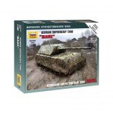 15mm WW2 German Maus Super Heavy Tank (1) ZVEZDA 1:100