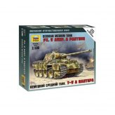 15mm WW2 German Panther A (1) ZVEZDA 1:100