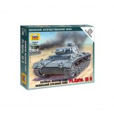 15mm WW2 German Panzer III G Medium Tank (1) ZVEZDA 1:100