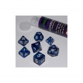 16mm Role Playing Dice Set - Blizzard Blue (7 Dice)