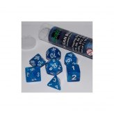16mm Role Playing Dice Set - Ocean Blue (7 Dice)