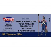 28mm French Napoleonic Artillery 1804-1812 XI