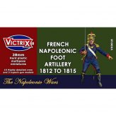 28mm French Napoleonic Artillery 1812-1815