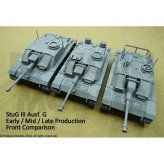28mm German StuG III Ausf G - Early/Mid/Late Production