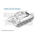 28mm Soviet T-34/85 Mid & Late War