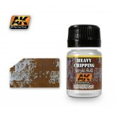 AK Weathering - Heavy Chipping Acrylic Fluid 35ml