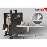 !AKTION Airbrush-Set EVOLUTION SILVERLINE Two in One +...