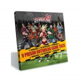 !AKTION Zombicide - Season 2 Prison Outbreak Game Tiles...