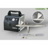 Airbrush-Set EVOLUTION SILVERLINE Two in One + AC-27...