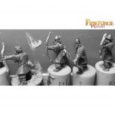 Arab Armoured Archers (6 infantry resin figures)