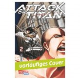 Attack On Titan, Band 2 (DE) *Mängelexemplar!