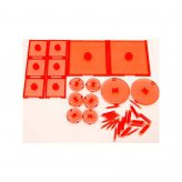 ** 30% SALE ** Attack Wing: D&D Wave Bases Set - RED