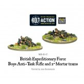 BEF Anti-Tank Rifle Team & 2 Mortar Team