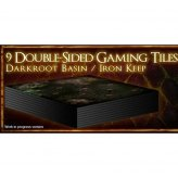 Dark Souls The Board Game: 9 Double Sided Gaming Tiles