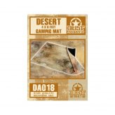 Dust Tactics: 4 x 6 feet Desert Gaming Mat with Bag