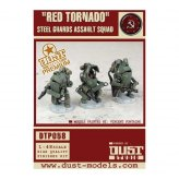 Dust Tactics: SSU Red Tornado Steel Guards  PREMIUM EDITION
