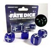 Fate Dice: Midnight Dice (4)