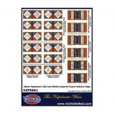 French Imperial Guard A4 flag sheet (18 flags)