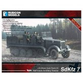 German SdKfz 7 Halftrack