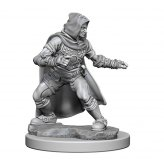 Human Male Rouge: Pathfinder Deep Cuts Unpainted Minis