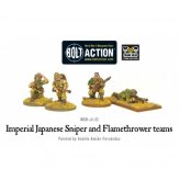 Imperial Japanese Sniper and Flamethrower teams [4]
