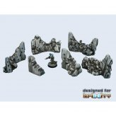 Infinity Concrete Wall Destroyed Set (6)