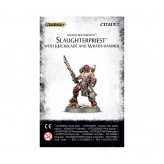 Khorne Bloodbound Slaughterpriest with Hackblade &...