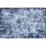 Winter Warzone City 6x4 Gaming Mat