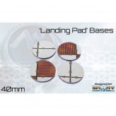 ** % SALE % ** Landing Pad Bases - 40 mm Round (4)*noch 3...