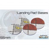 ** % SALE % ** Landing Pad Bases - 55 mm Round (4)*noch 4...