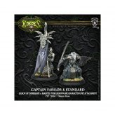 Legion of Everblight Captain Farilor & Standard Nyss...