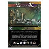 Malifaux: Shifting Loyalties Campaign Deck (ENGLISCH)
