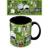 Rick and Morty Mega Tasse Quotes