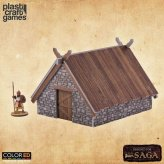 SAGA ColorED Tabletop-Bausatz 28 mm Pit House