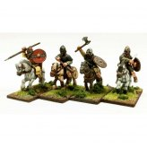 SAGA: Pict Nobles Mounted (Hearthguard) (1 point) (4)